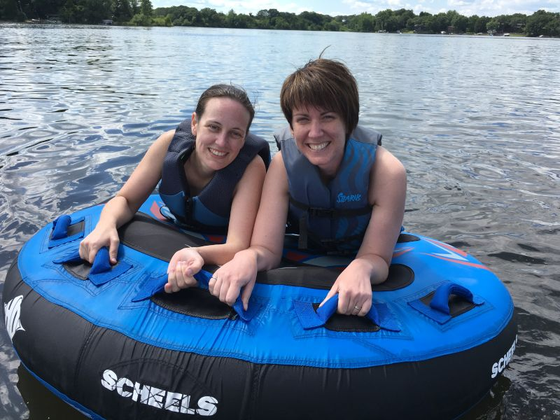 Tubing With Friends