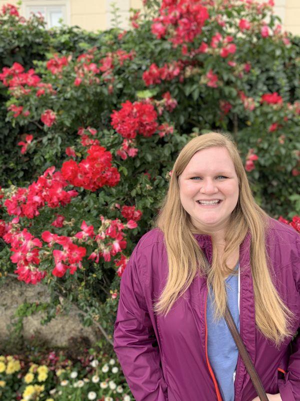 Sarah in Salzburg by Beautiful Roses!