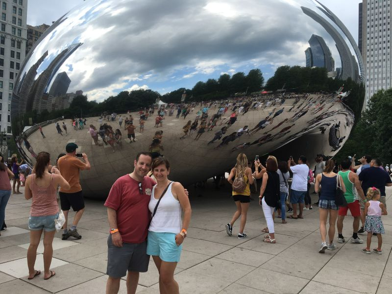 At the Chicago Bean