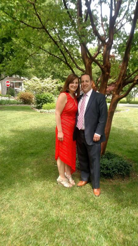 At Jen's Mom's Wedding