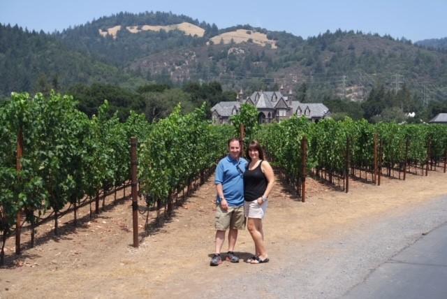 Visiting a Vineyard