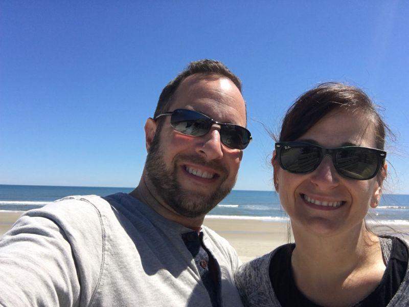 At the Beach in North Carolina