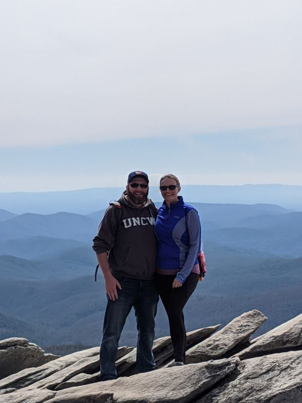 Hiking in the Blue Ridge Mountains