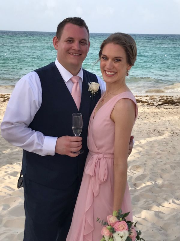 Celebrating Matt's Brother's Wedding in Punta Cana