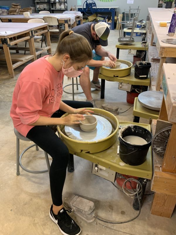 Taking a Pottery Class Together