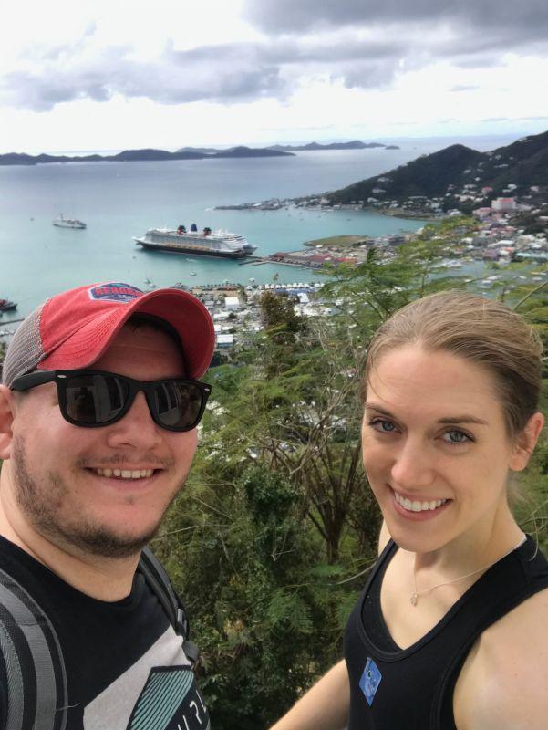 Ziplining in Tortola, British Virgin Islands