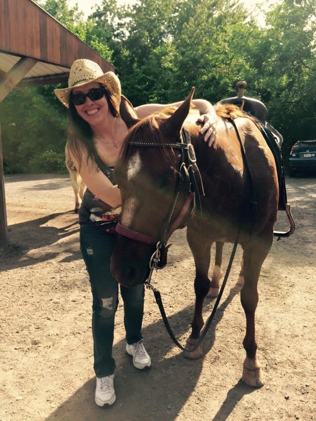 After a Horseback Ride