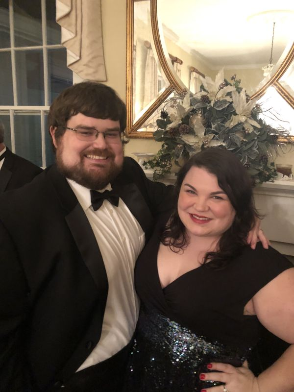 All Dressed Up for the Annual Christmas Ball