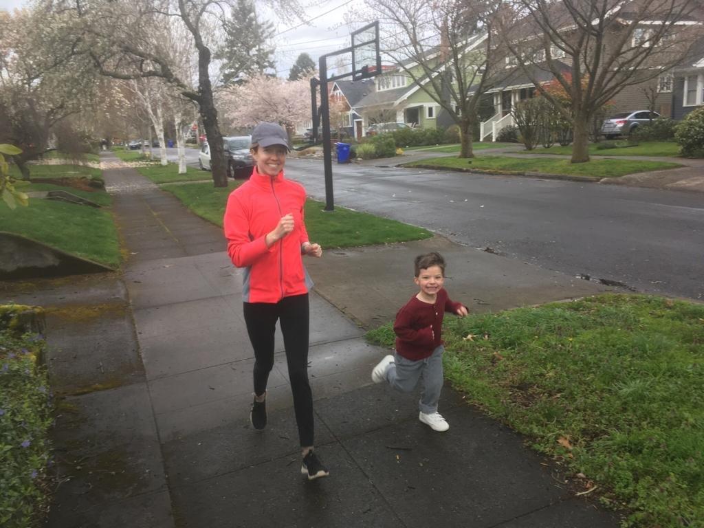 Jogging Around Our Neighborhood