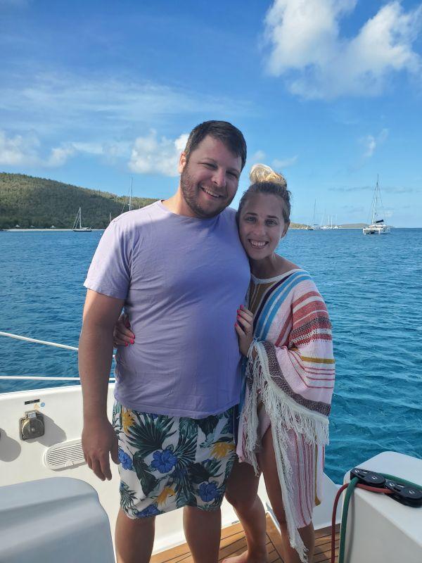 In the Virgin Islands