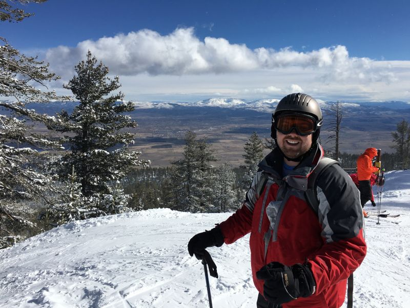 Jason Grew Up Skiing