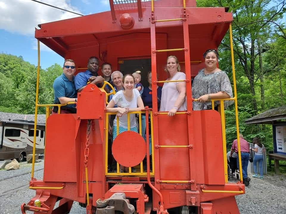 With Family & Friends on the Bryson City Train
