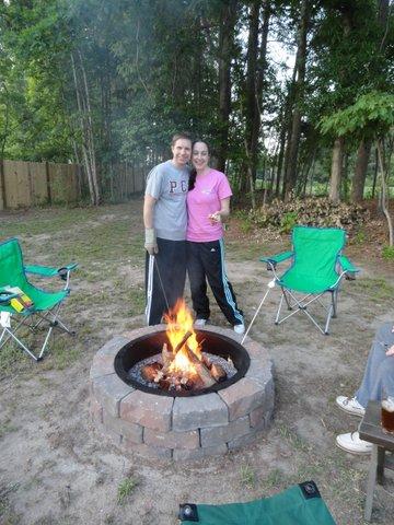 Backyard Bonfire & S'mores