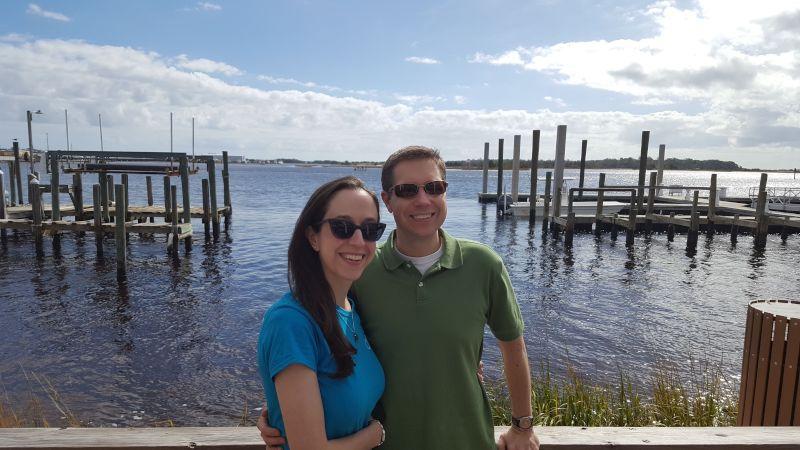 Visiting the Beach at Emerald Isle
