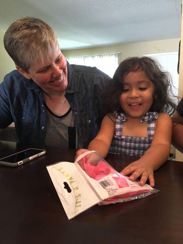 Kristi Spending Time With Her Goddaughter