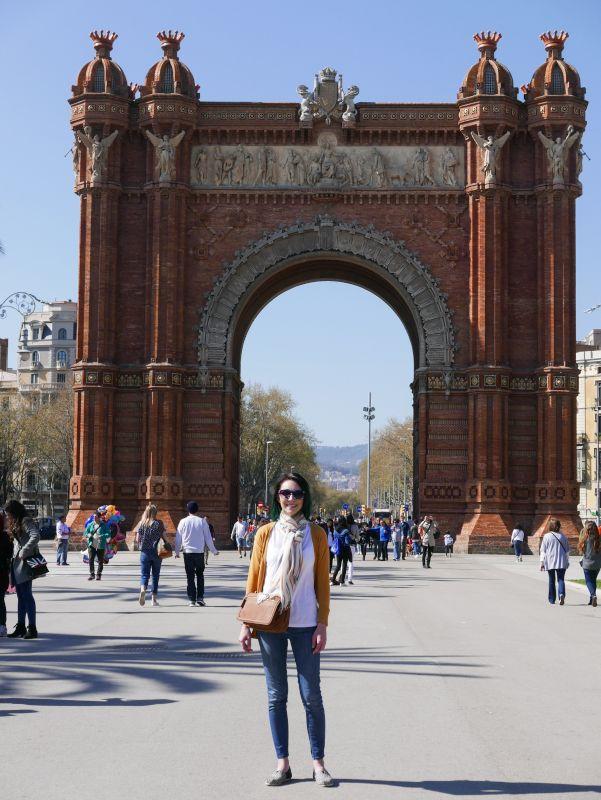 Liz in Barcelona