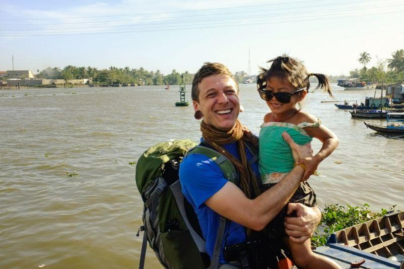 Kyle in Vietnam