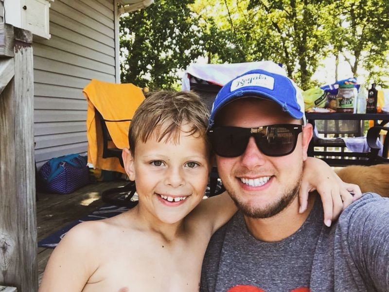 Pool Day With Our Nephew