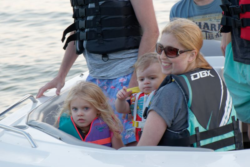 Family Fun on the Boat