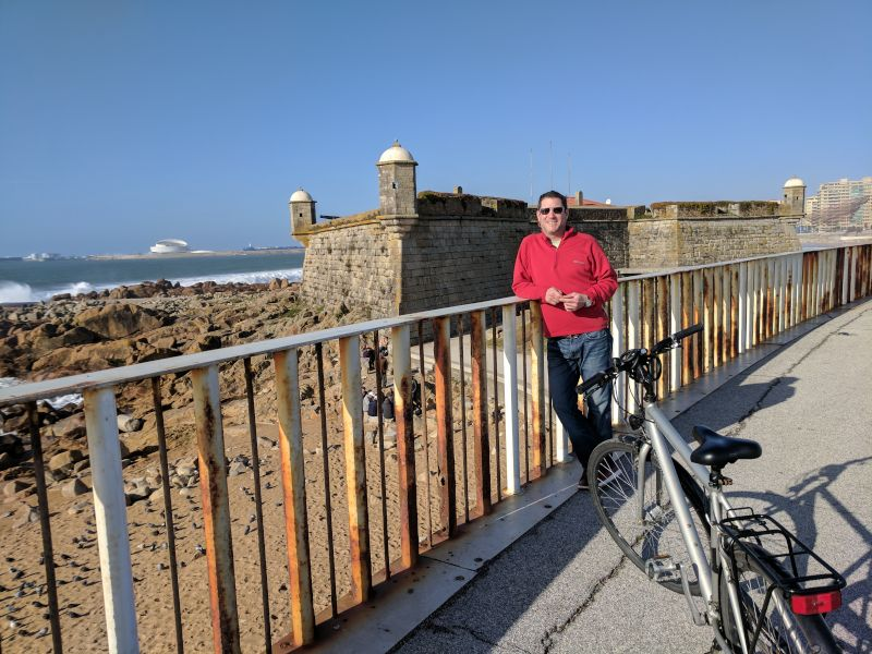Bike Ride Along the Coast of Portugal