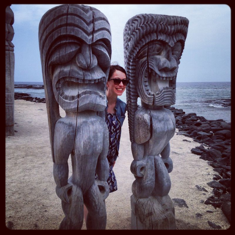 Checking Out Two Historic Warriors in Hawaii