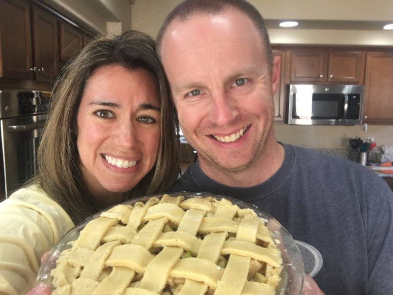 Baking a Pie Together