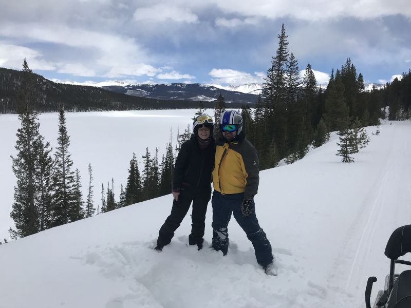 On a Ski Vacation