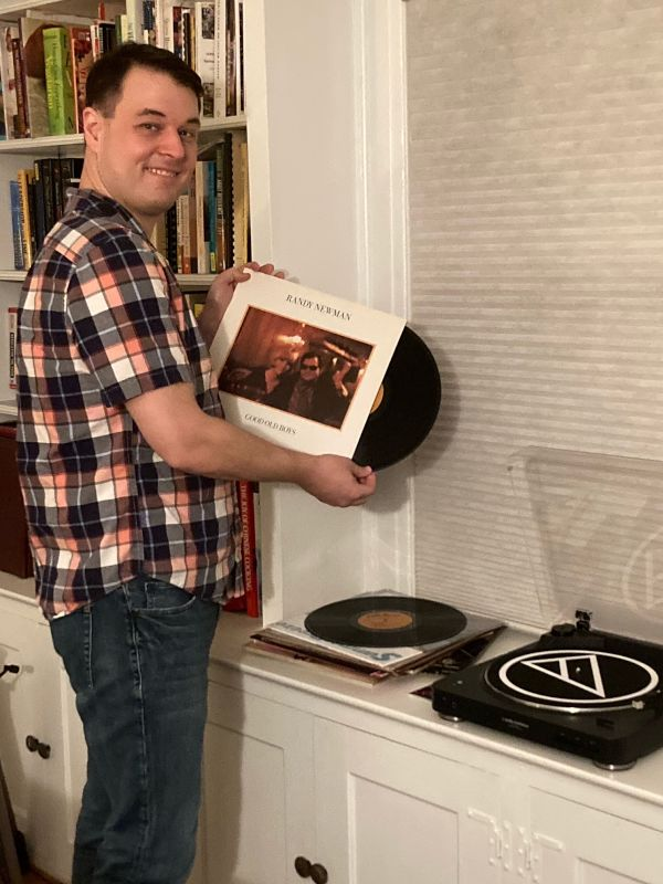 Perusing Our Record Collection