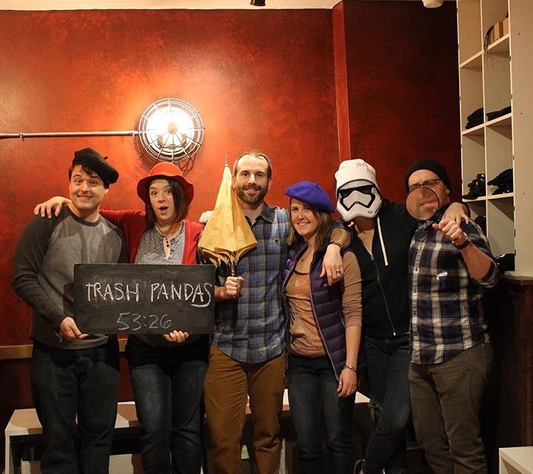 Escaped an Escape Room With Some of Our Favorite People!