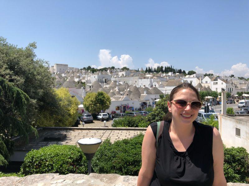 Johanna in Italy
