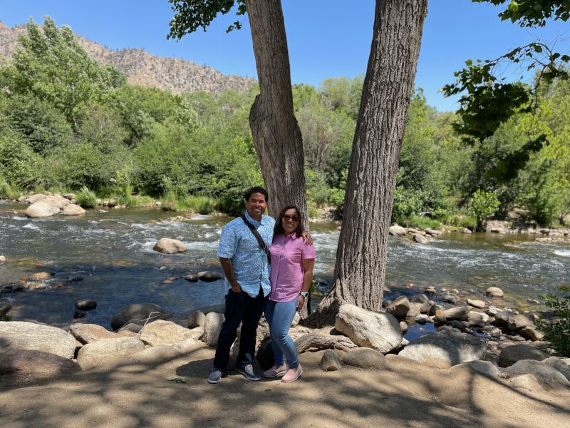 A Walk by the Riverside in Kern River Valley, California
