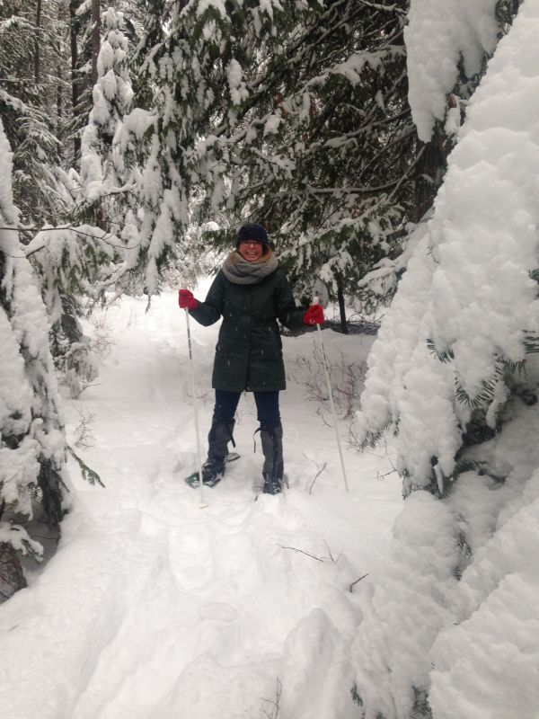 Snowshoeing in Spokane