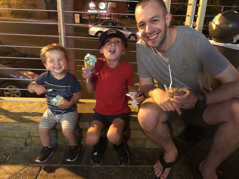Ice Cream With Our Nephews