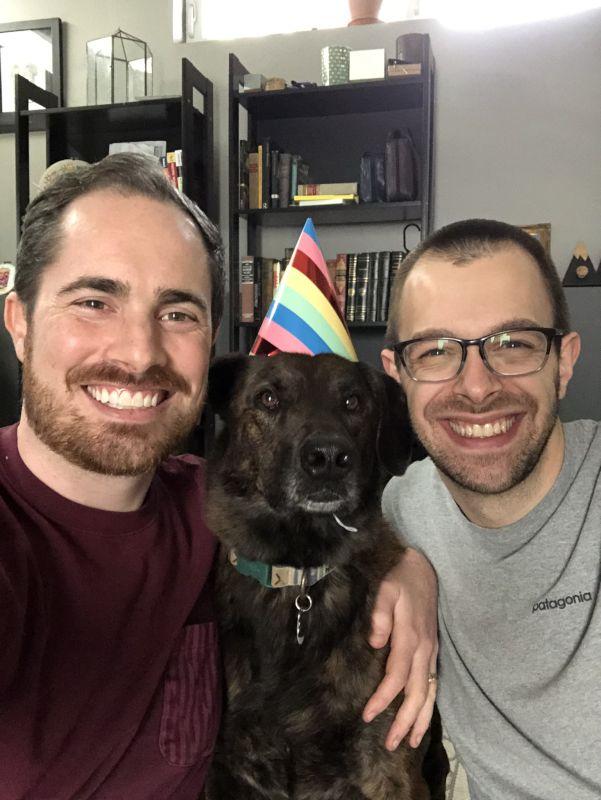 Celebrating Timber's Birthday