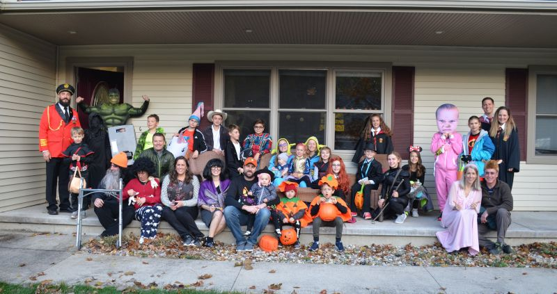 Annual Halloween Party at Our Friend's House