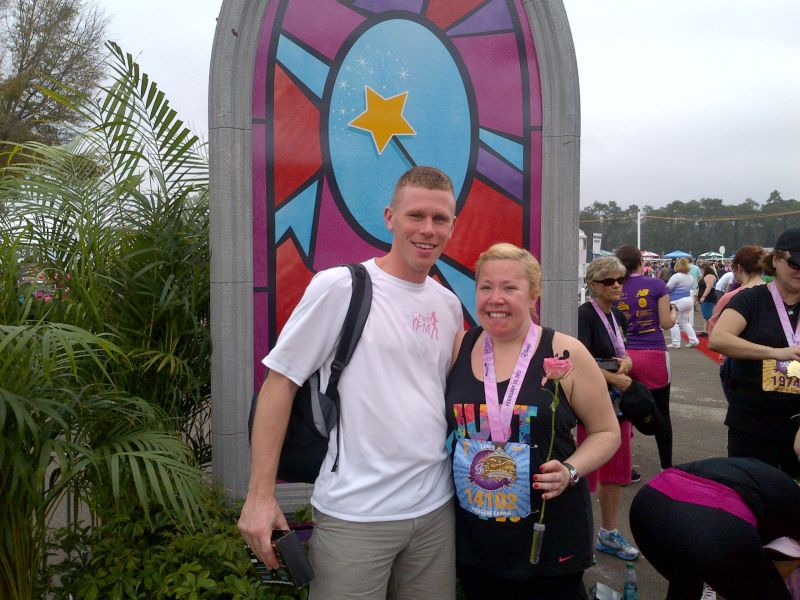 Carrie Finished Her First Half-Marathon!