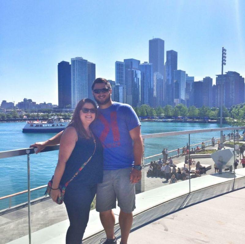 Visiting Navy Pier in Chicago
