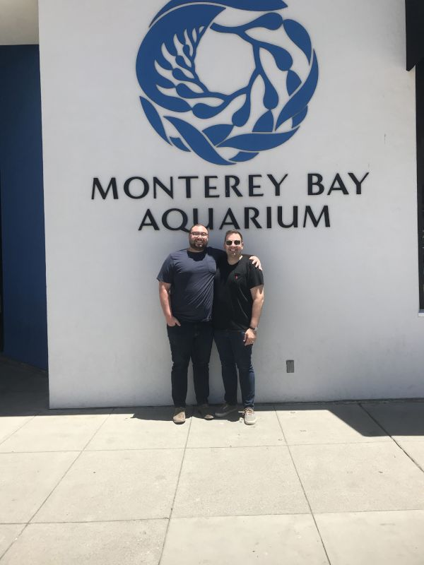 A Day at the Monterey Bay Aquarium