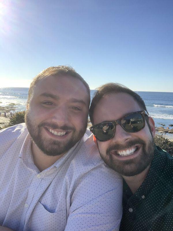 Sunny Day at La Jolla Cove