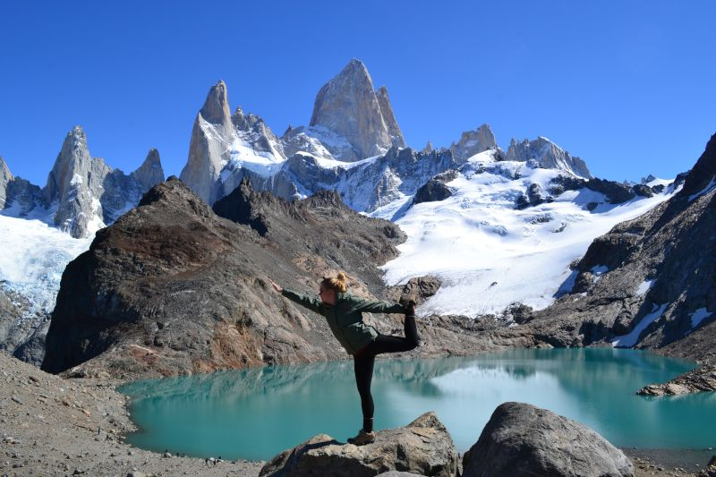 Yoga Pose in Argentina