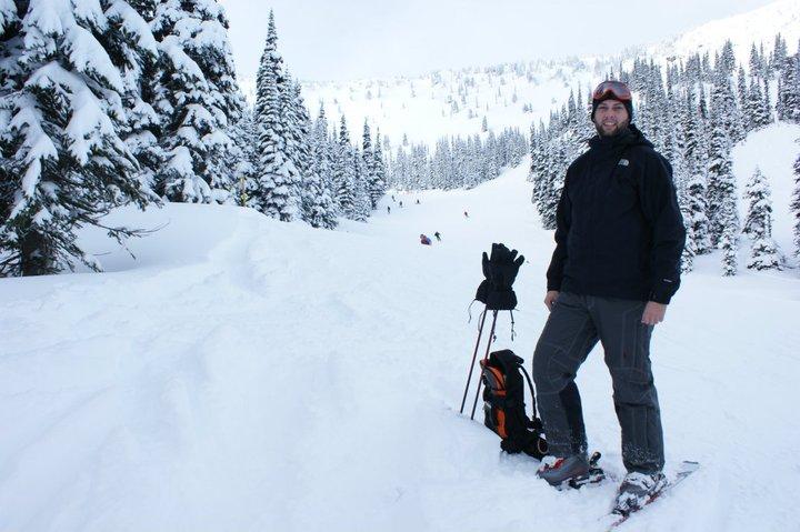 Skiing in Washington