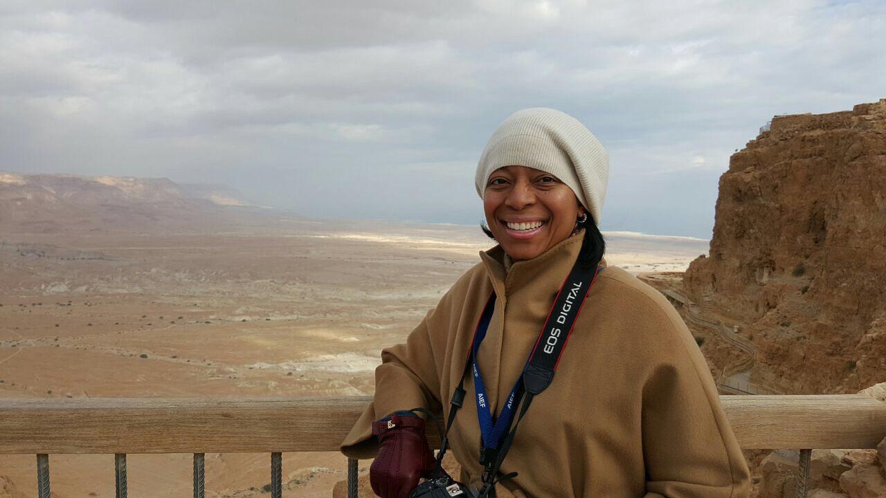 Picture Perfect Scenery in Masada
