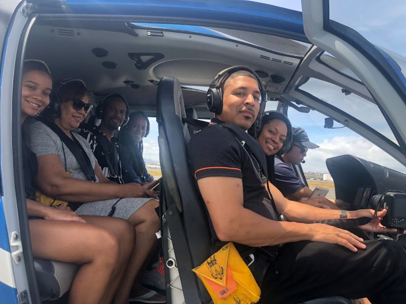 Helicopter Ride Over Hawaii