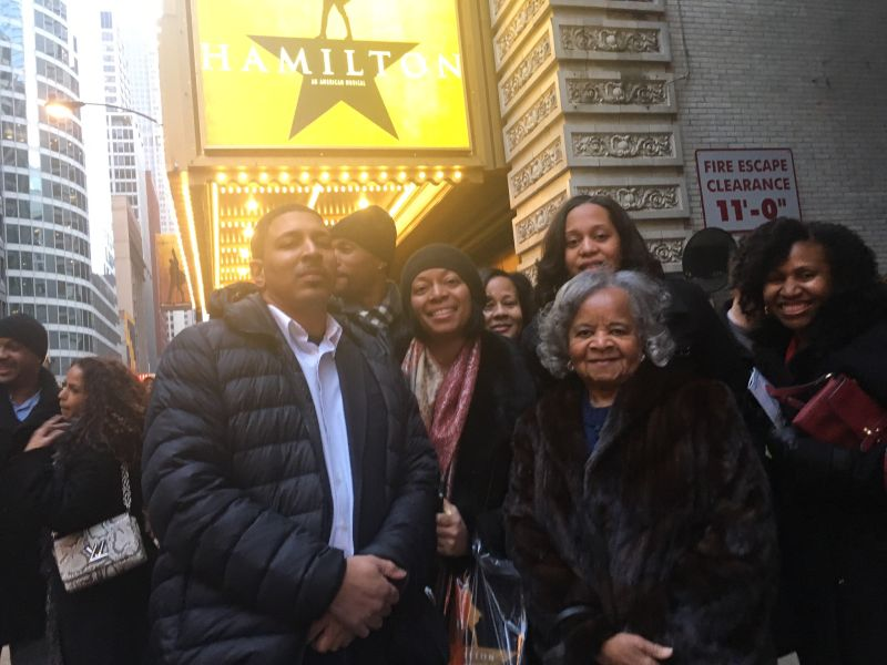 Going to See Hamilton with the Fam