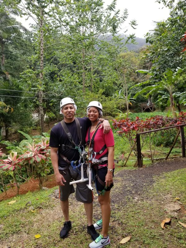 Zip Cord Action in St. Lucia