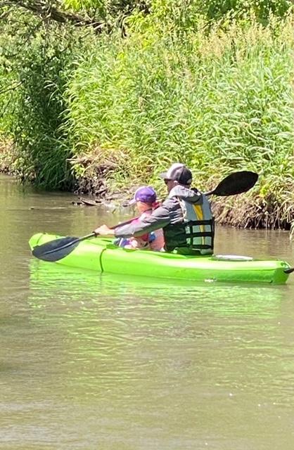 Daddy Daughter Kayaking Day