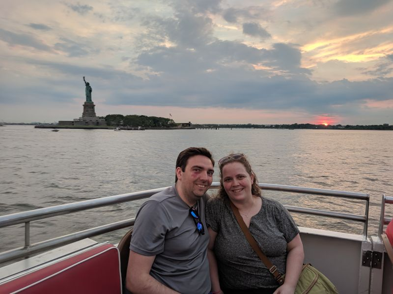 A Boat Tour in New York City