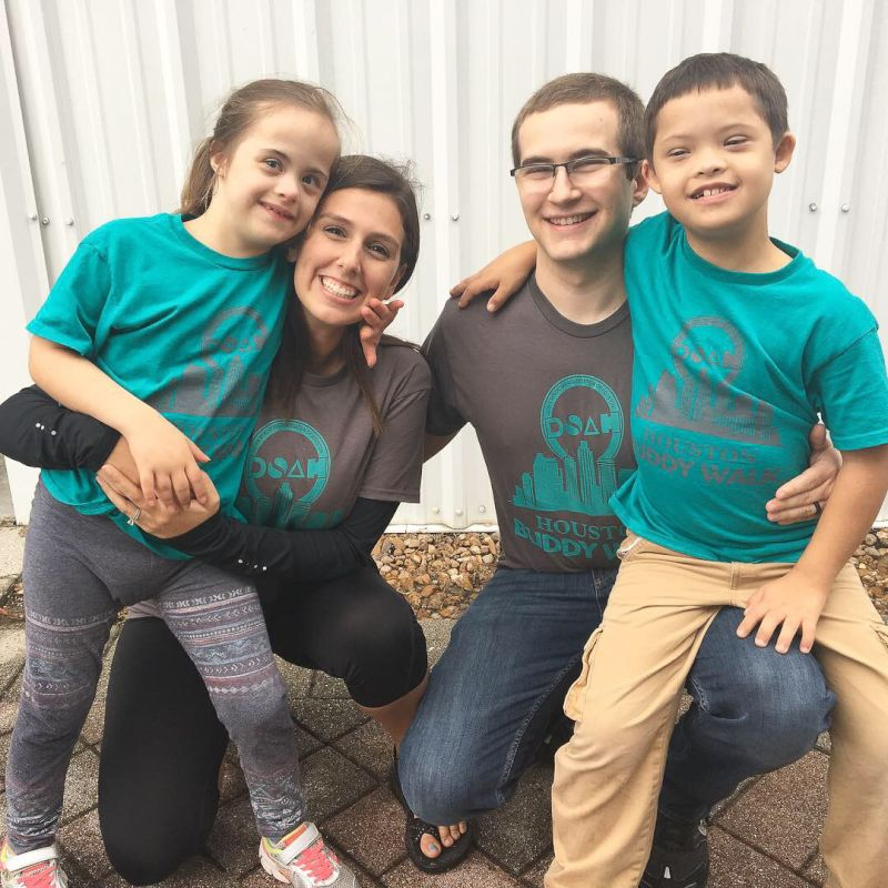 Down Syndrome Buddy Walk With Friends