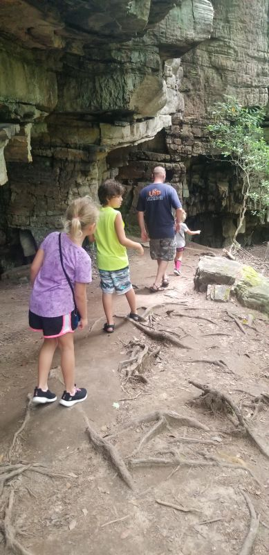 Kevin Hiking With Our Nieces & Nephews