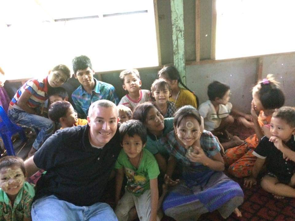 Hanging Out With Kids on a Mission Trip in Asia